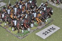 25mm napoleonic / prussian - hussars (plastic) 12 figures - cav (22896)
