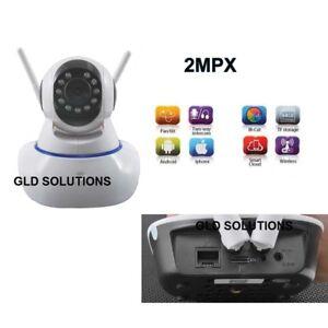 TELECAMERA IP WiFi 2MPX a Colori da Remoto SMART CLOUD App ANDROID APPLE Iphone