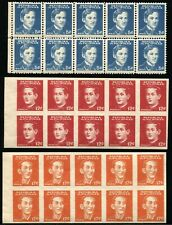 Philippines Occupation Stamps #N32 #N33a #N34a Postage Collection 1944 Mint NH