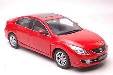 Mazda 6 car model in scale 1:18  red