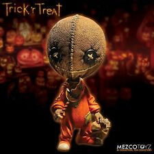 "Trick R' Treat Sam 6"" Stylized Roto Vinyl Figure Mezco Toyz Horror Doll"