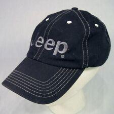 JEEP Ball Cap Hat Black with Logo Belt Back Adjustable