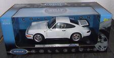 1x Modellauto 1:18 Porsche 911 964 Turbo weiss  neu mit  OVP