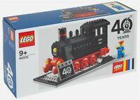 NEW LEGO 40370 TRAIN SET - 40th ANNIVERSARY STEAM ENGINE VIP EXCLUSIVE - BNIB
