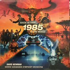 """Back In Time 1985 At The Movies"" 6 CD SET SEALED! Varese Sarabande DAVID NEWMAN"
