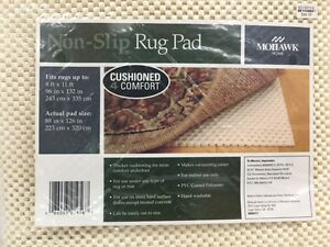 Mohawk Home Non-Slip Rug Pad - fits 8 ft x 11 ft, 88 in x 126 in