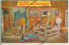ELSIE AND BEAUREGARD-BORDEN-TRAIN-CORRAL-ADVERTISING-(DAIRY-32*)