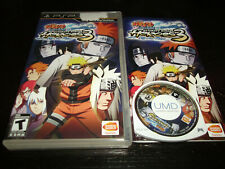 Naruto Shippuden Ultimate Ninja Heroes 3 (Sony PSP, 2010) Playstation Portable