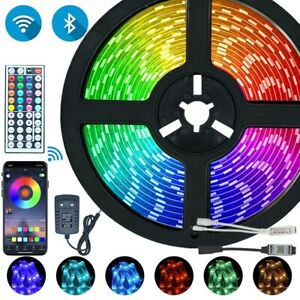 LED Strips Lights Bluetooth Iuces RGB 5050 SMD 2835 Waterproof WiFi Flexible Lam