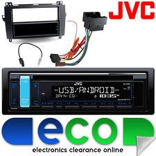 MERCEDES CLASSE B 2005-2011 JVC CD MP3 USB AUX IPOD STEREO AUTO Facia Kit di montaggio