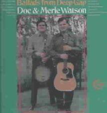 Ballads From Deep Gap 0015707657624 by Doc & Merle Watson CD