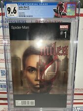 Spider-Man (Miles Morales) 1 CGC 9.6  Adi Granov Hip Hop Variant Cover Nas 🔥