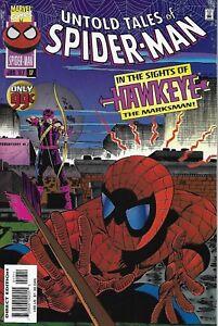 Spider-Man Comic 17 Untold Tales Cover A First Print 1997 Kurt Busiek Marvel