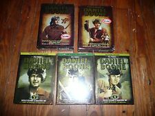 Lot of 5 COMPLETE SEASONS of DANIEL BOONE Fess Parker NEW, 38 SEALED DVDs!! TV