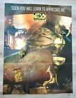 """1998 Star Wars Jabba's Place Poster 25' x 44"""" Promo"""
