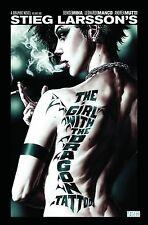 THE GIRL WITH THE DRAGON TATTOO VOL #1 HARDCOVER Stieg Larsson Movie Comics HC