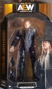 AEW Unrivaled Collection Serie 1 Nr. 06 Chris Jericho Neu / Ovp WWE