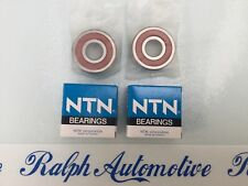 YAMAHA RD250 + RD400 C / D CAST ALLOY NTN FRONT WHEEL BEARINGS (PAIR) OE QUALITY