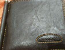 Portafoglio Uomo Vintage in Pelle Porta Carte di Credito Elegante Marrone Antico