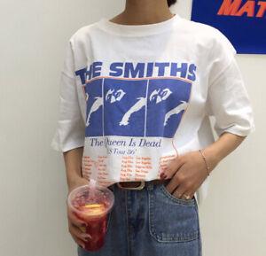 The Smiths Us Tour 86 T Shirt %100 Cotton