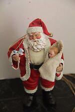 1994 CLOTHIQUE SANTA BABY'S FIRST CHRISTMAS #714010 Original Box