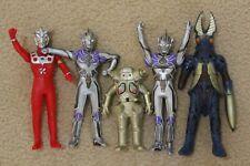 bandai ultraman soft vinyl action figure baltan king joe ultra man lot of 5
