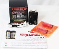 ✅ The Original 24 VOLT Mod For EMG & Active Guitar Bass Pickups Battery Pack