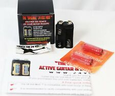 The Original 24 VOLT Mod For EMG & Active Guitar Pickups Battery Pack Batteries