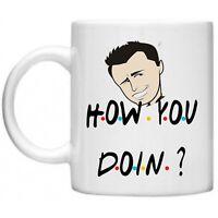 Friends How You Doin Joey Tribbiani Chandler Ross Monica Rachel Phoebe 11oz Mug