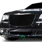 Topline For 2011-2014 Chrysler 300/300C Mesh Front Bumper Grille - Matte Black  for sale