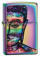 Zippo Bright Buddha Design Multi Color Windproof Pocket Lighter, 49136