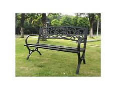 Imperial Power IP-D2923C Garden Bench, Scroll Back Steel Park Bench, FREE SHIP!!