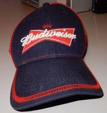 Vintage Budweiser Grab Some Buds Snapback Adjustable Trucker Baseball Hat Cap