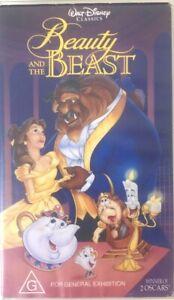 Beauty And The Beast VHS Walt Disney Classic
