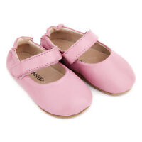 NEW SKEANIE Pre-Walker Leather Lady Jane Shoes Pink. 0 to 2 years.