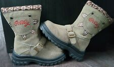 Size 10.5 to 11 Young Girls Boots with Pockets - Unworn