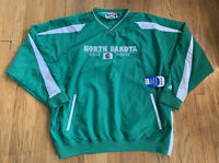 North Dakota Fighting Sioux Vintage 90's Russell Athletic Pullover XL NWT RARE