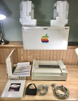 1984 Apple ImageWriter Printer COMPLETE LN in BOX Macintosh 128K Mac 512K RARE!