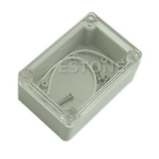 Plastic Waterproof Clear 100x68x50mm Cover Electronic Project Box Enclosure Case