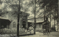 Bad Hamm in Westfalen, Badehaus, 1909 mit Bahnpost (4068)