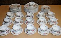 Modell Von Ph Rosenthal Selb Bavaria Porcelain Dinner Set - Maria Flowers