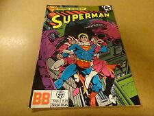 COMIC BALDAKIJN DC / SUPERMAN N° 27