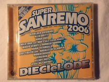 CD Super sanremo 2006 dieci e lode ANNA OXA GIANLUCA GRIGNANI SIGILLATO SEALED!!