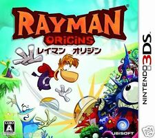 Used 3DS Rayman  Origins  NINTENDO 3DS JAPANESE  IMPORT