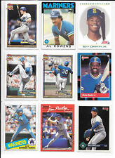 Jay Buhner plus 8 more Mariners Baseball players