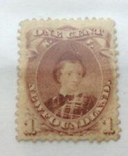 Sello de 1 céntimos 1866 Terranova sin usar