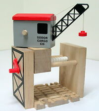 Thomas, Wooden, SODOR CARGO CRANE, BRITT ALLCROFT 2000, VGUC