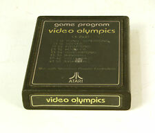 Vintage Atari 2600 game Video Olympics Text Label Tested and Working