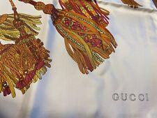 Gucci Tassels Design New w/tags Scarf
