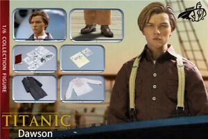 CHONG 1/6 Titanic Jack Dawson 12inch Male Action Figure Model Doll Toy